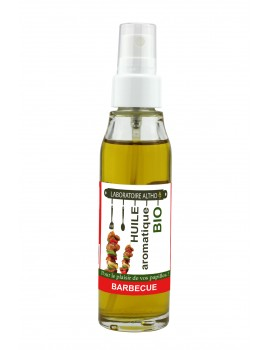 BARBECUE ochucený bio olej -50 ml