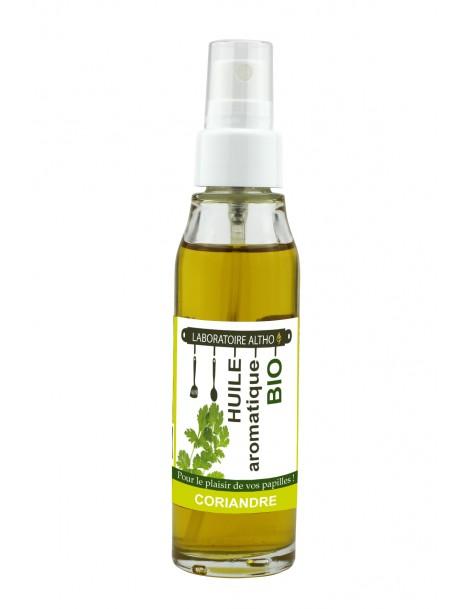 KORIANDR ochucený bio olej, 50 ml