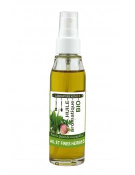 ČESNEK a BYLINKY kulinářský bio olej, 50 ml