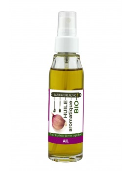 ČESNEK ochucený bio olej, 50 ml