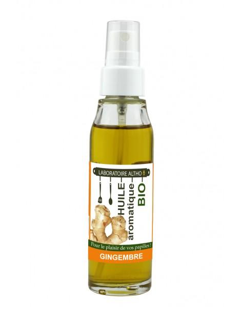 ZÁZVOR ochucený bio olej, 50 ml