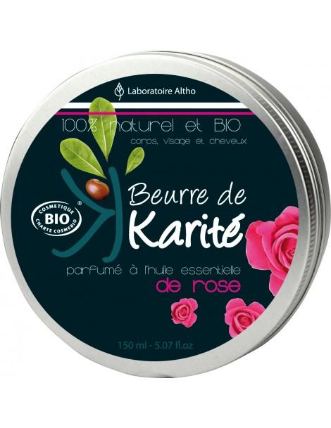 Damašská růže - bambucké máslo, 150 ml