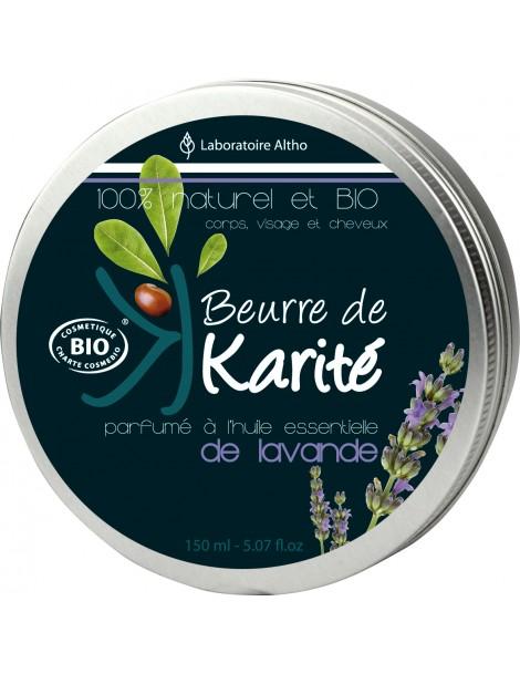 Levandule grosso / lavandin - Bambucké máslo, 150 ml