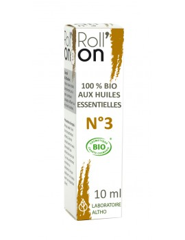 Roll-on N°3 BIO - na štípance, 10 ml