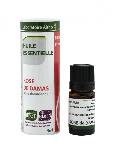 Růže damašská BIO - Esenciální olej organic, 5 ml (Bulharsko)