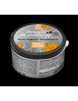 Masážní svíčka Meruňka / Grapefruit BIO, 100 ml