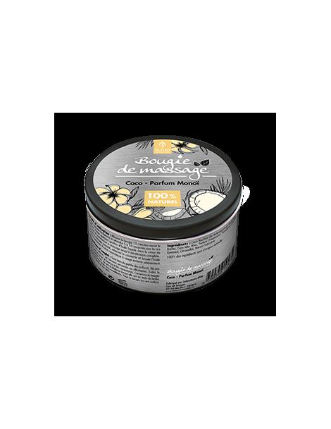 Masážní svíčka Kokos / Monoi BIO, 100 ml