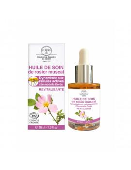 Růžový pleťový olej, 30 ml - zářivá a mladší pleť