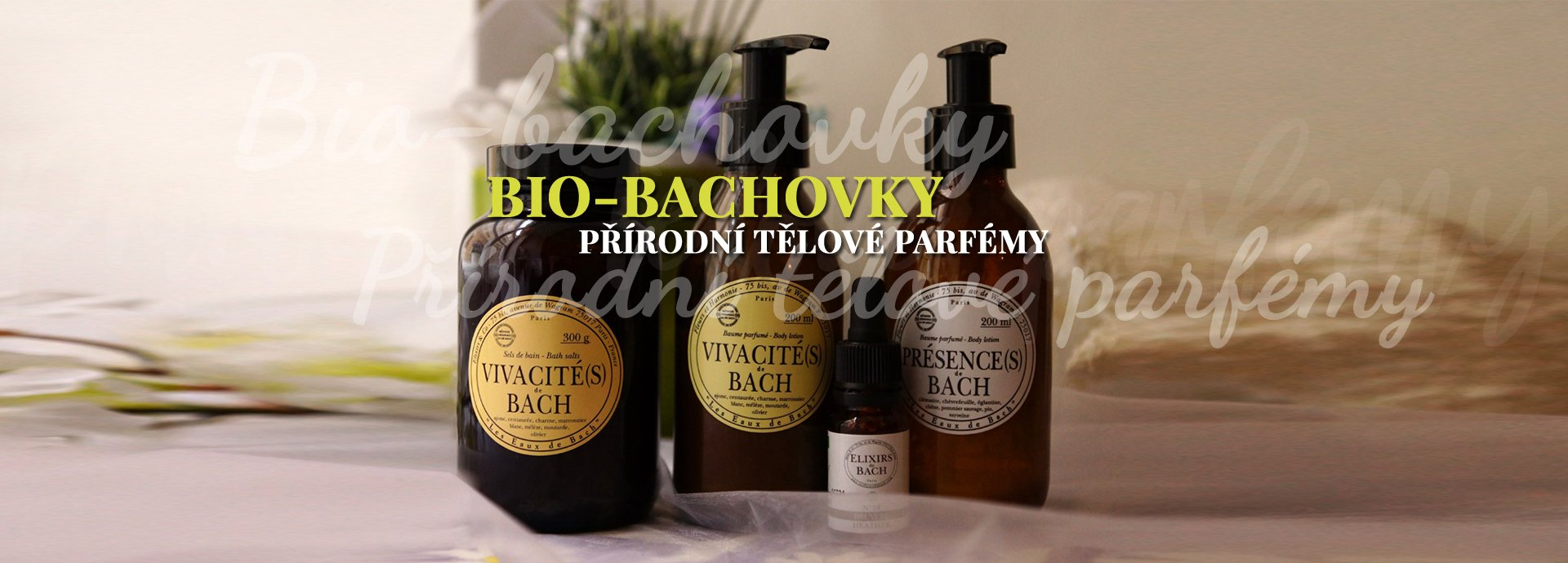 Bio Bachovky - přírodní tělové parfémy